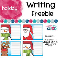 Christmas Writing Freebie