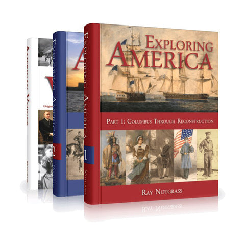 Exploring America Curriculum Package