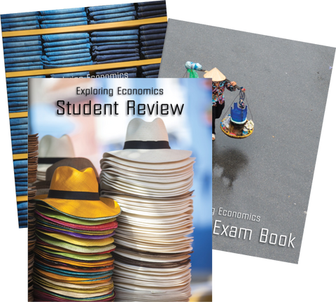 Exploring Economics Quiz and Exam Pack - Yellow House Book Rental