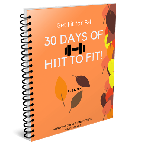 Fit For Fall- 30 Days of HIIT to Fit