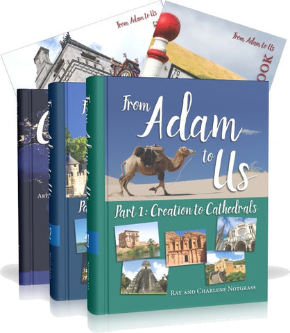 From Adam to Us Curriculum Package - Yellow House Book Rental