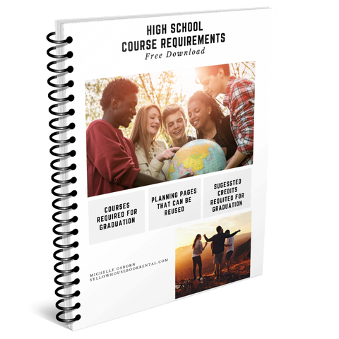 Course Requirements For High School Graduation and Planner