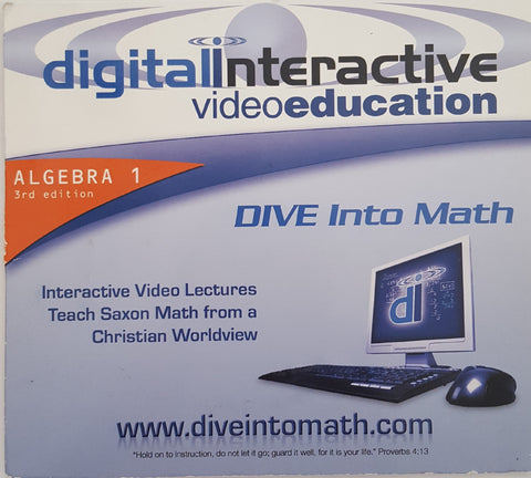 Dive Into Math Interactive Video Lectures Algebra 1