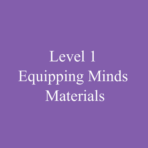 Level 1 Equipping Minds Certification