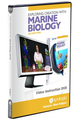 Exploring Creation with Marine Biology DVD