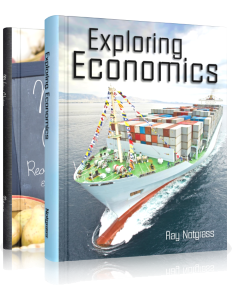 Exploring Economics Package (2016) - Yellow House Book Rental  - 1