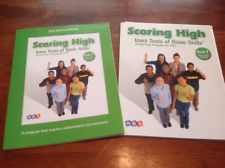 Scoring High Iowa Tests of Basic Skills Student & Teacher Edition Set