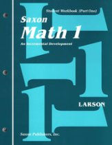 Saxon Math 1 Work Kit and Fact Cards - Yellow House Book Rental