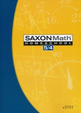 Saxon Math 5/4 Student Text, 3rd Edition - Yellow House Book Rental