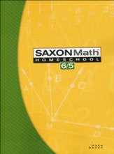 Saxon Math 6/5 Student Text, 3rd Edition - Yellow House Book Rental
