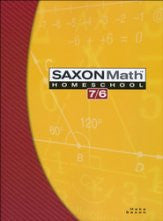 Saxon Math 7/6 Student Text - Yellow House Book Rental