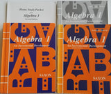 Saxon Algebra 1, 2nd ed. Four Book Set