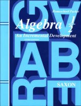 Saxon Math Algebra 1/2 Answer Key and Test Forms 3rd Edition - Yellow House Book Rental