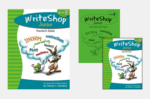 WriteShop Junior Book F Value Pack