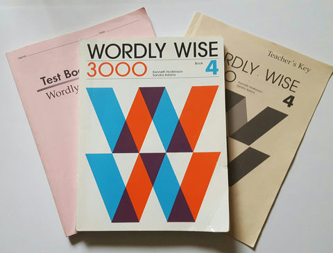 Wordly Wise 3000: Book 4 set