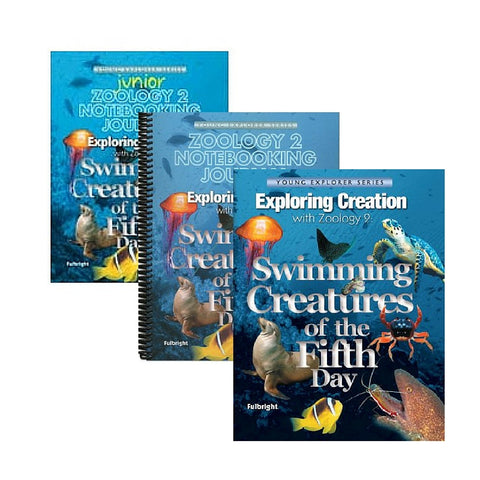 Exploring Creation With Zoology 2 Family Bundle: Swimming Creatures of the Fifth Day - Yellow House Book Rental