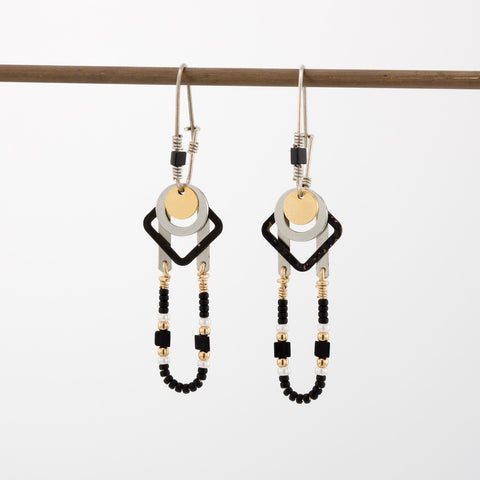 Geometric Earrings // #005