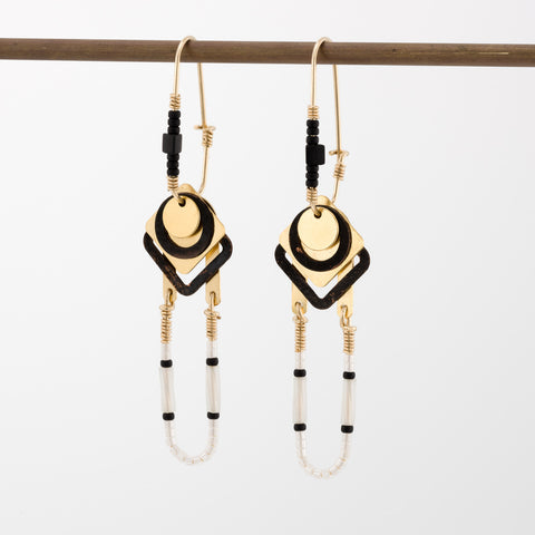 Geometric Earrings // #007