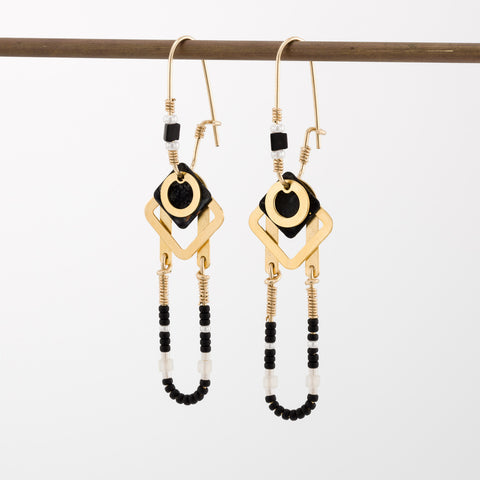 Geometric Earrings // #006