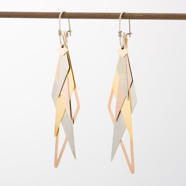 Geometric Earrings // #032