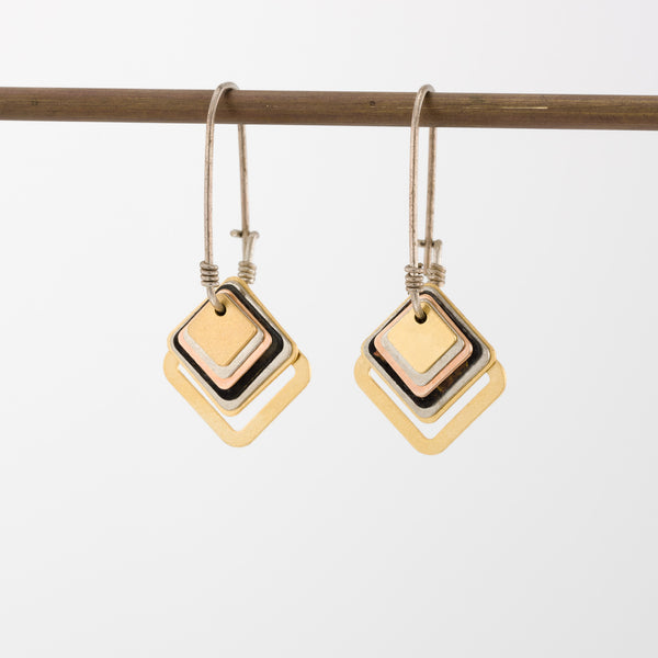 Geometric Earrings // #030