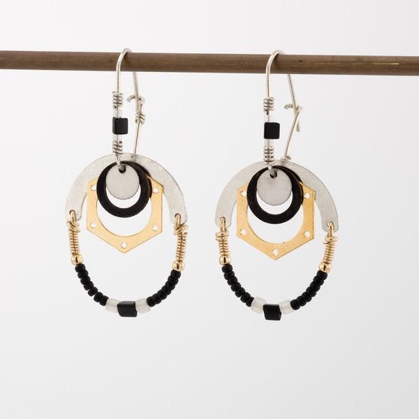Geometric Earrings // #025