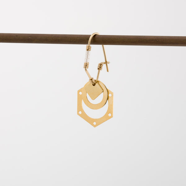 Geometric Earrings // #039
