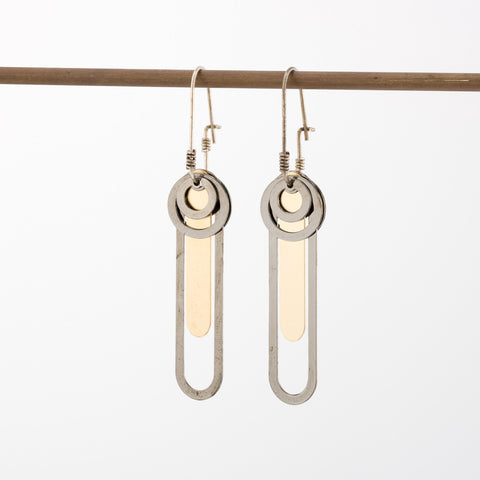 Geometric Earrings // #010