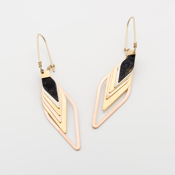 Geometric Earrings // #033