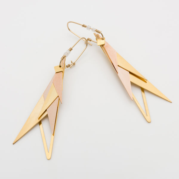 Geometric Earrings // #031