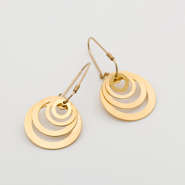 Geometric Earrings // #019