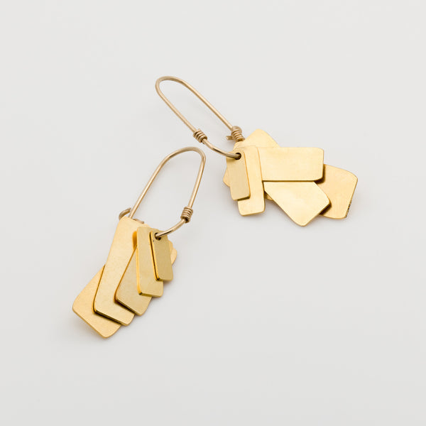 Geometric Earrings // #018
