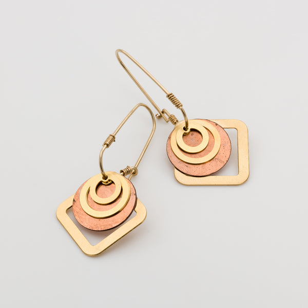 Geometric Earrings // #029