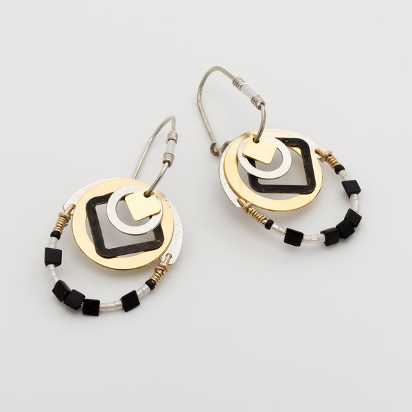 Geometric Earrings // #023