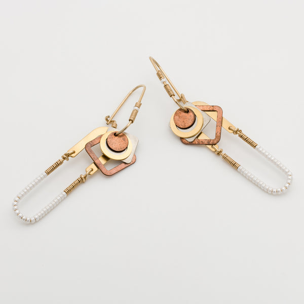 Geometric Earrings // #008
