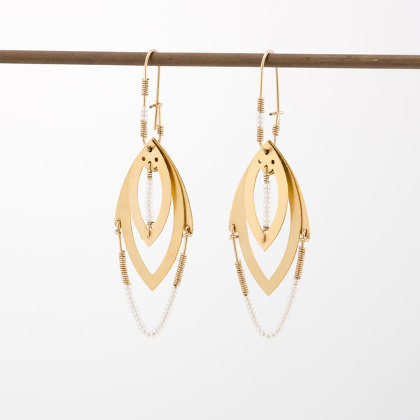 Geometric Earrings // #002