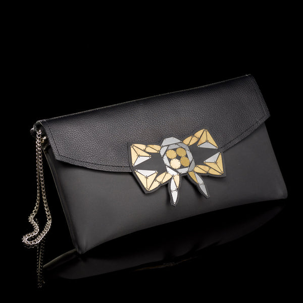 Dark Black Clutch // 308
