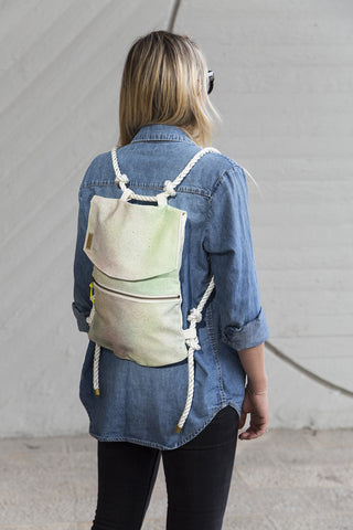 Frangipani Backpack // 408
