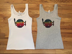 DIXSIX Tank Tops - White or Grey
