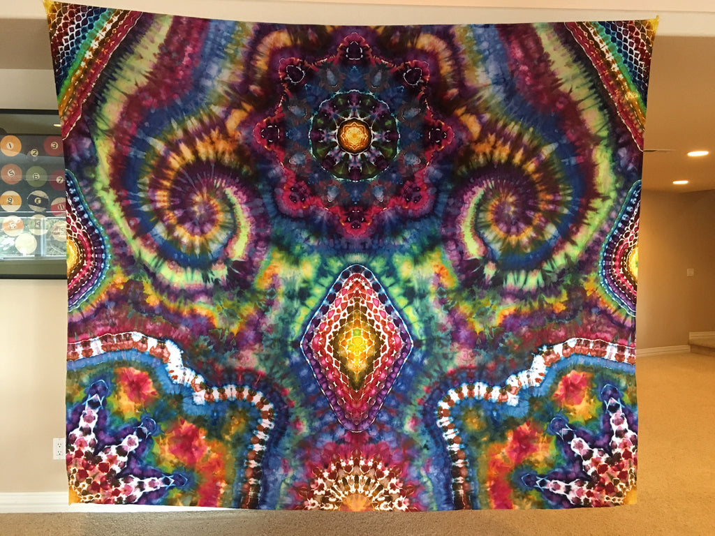 "Tapestry, 100"" x 85"" Cotton"