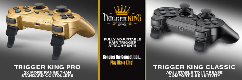 Trigger King PS3 Combo Pack Trigger Attachments