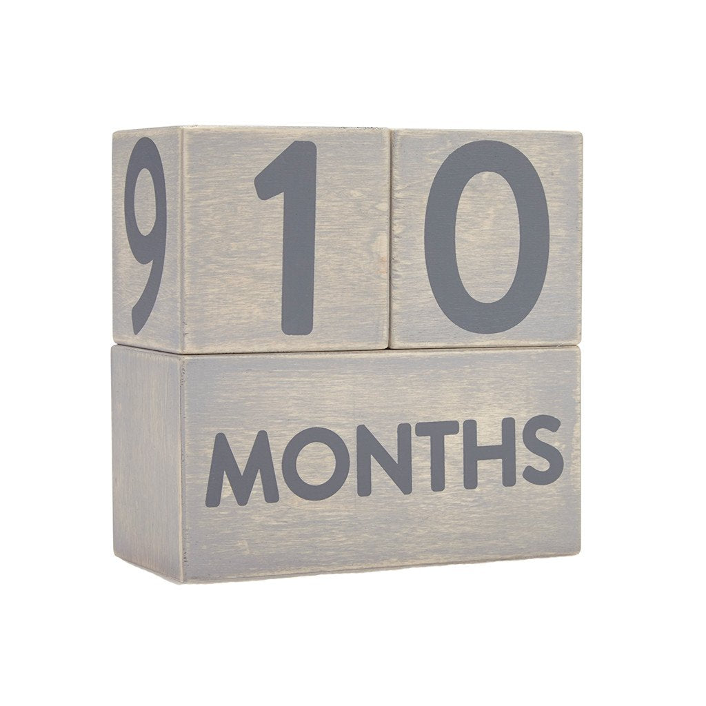 Pearhead Wooden Milestone Blocks