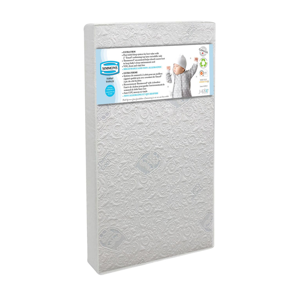 Simmons Crib Topaz Mattress