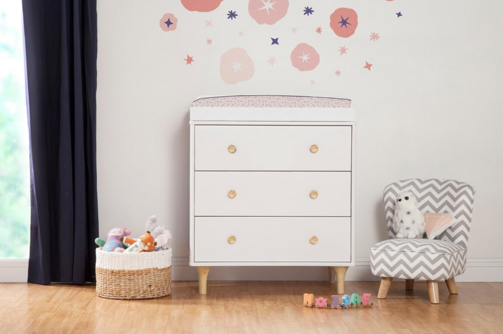The Lolly 3-Drawer Dresser Changer