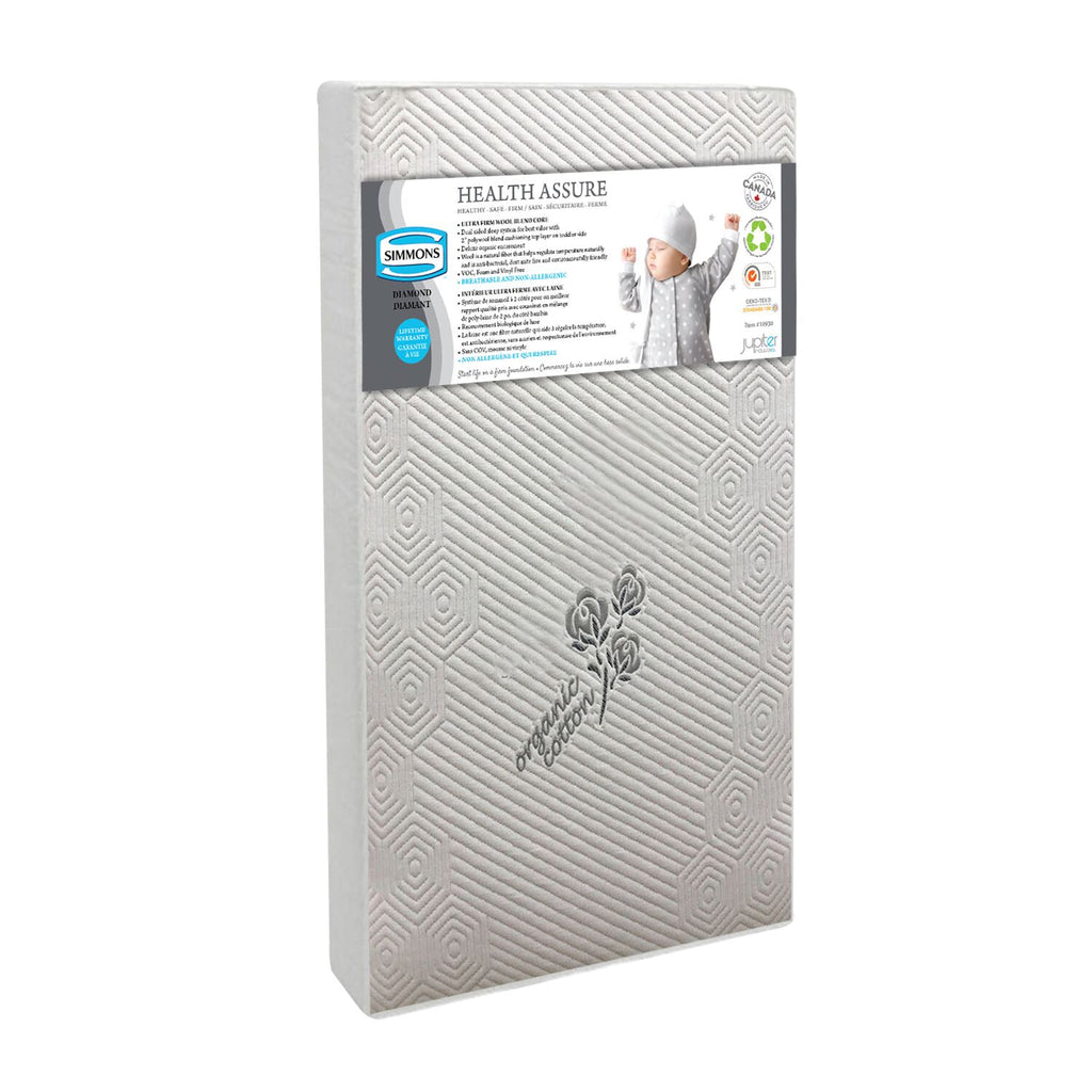Simmons Crib Mattress Health Assure Diamond