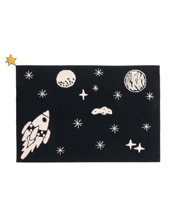 Lorena Canals Washable Rug Universe The Galaxy