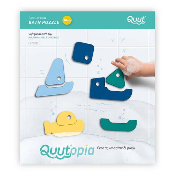 Quutopia Rock The Boat Bath Puzzle