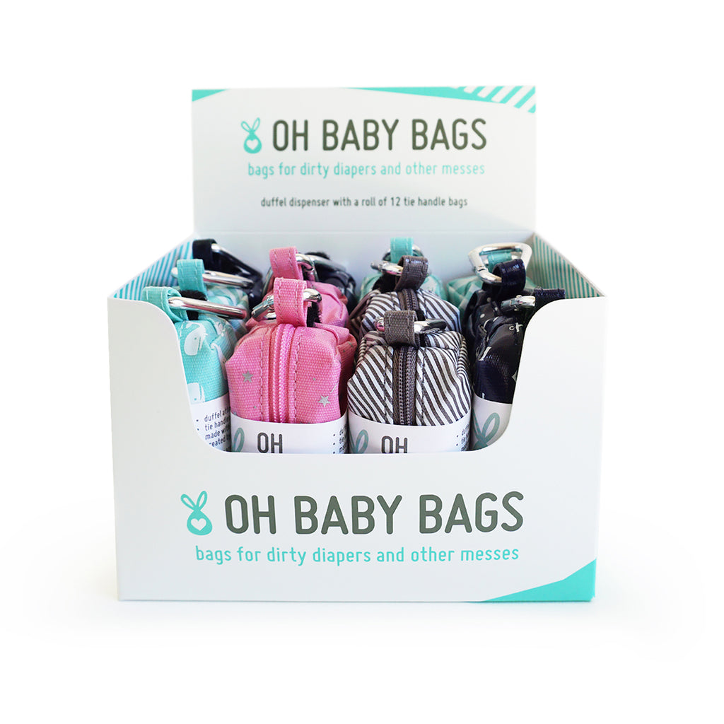 Oh Baby Bags Duffle Dispenser