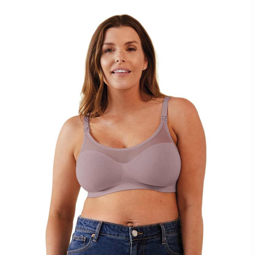 Body Silk Seamless Sheer Nursing Bra