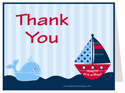Say Thank You with Nautical Themed Style!